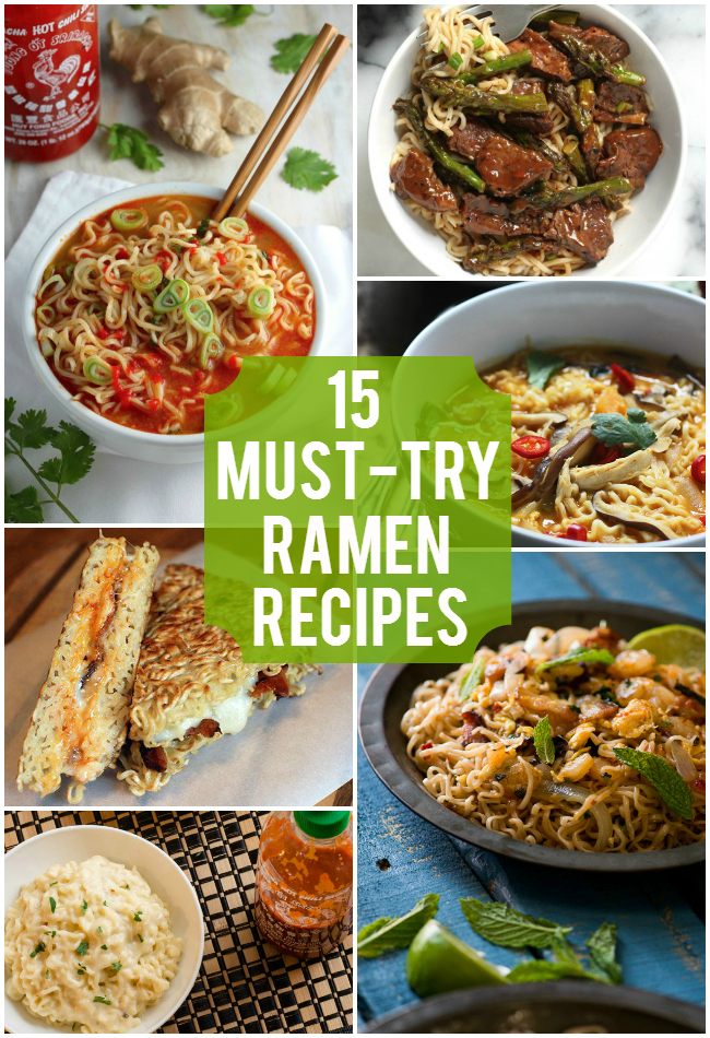15 Must-Try Ramen Recipes