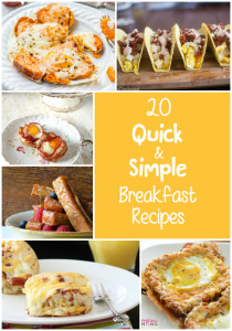 20 Quick and Simple Breakfast Recipes