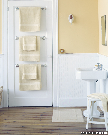 Bathroom Door Towel Hangers
