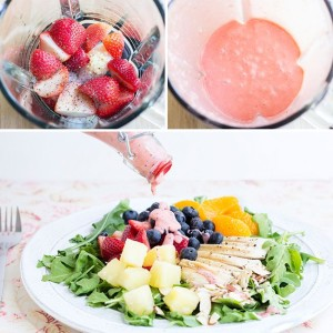 Copycat Panera Strawberry Poppyseed Dressing