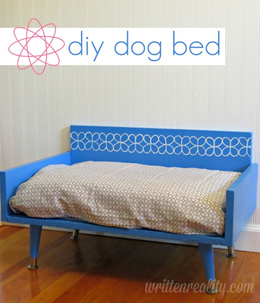 DIY Cute Dog Bed