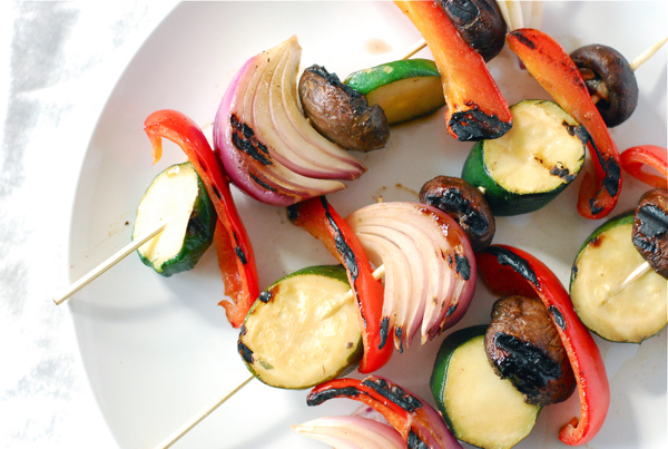 Honey Mustard Grilled Vegetables