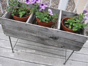 Old Crate Planters