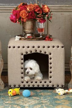 Ottoman Dog Bed