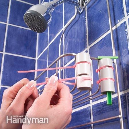 PVC Pipe Razor Holder