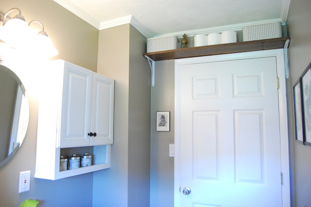Shelf Above the Bathroom Door