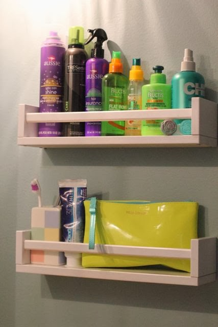 Spice Rack Bathroom Storage