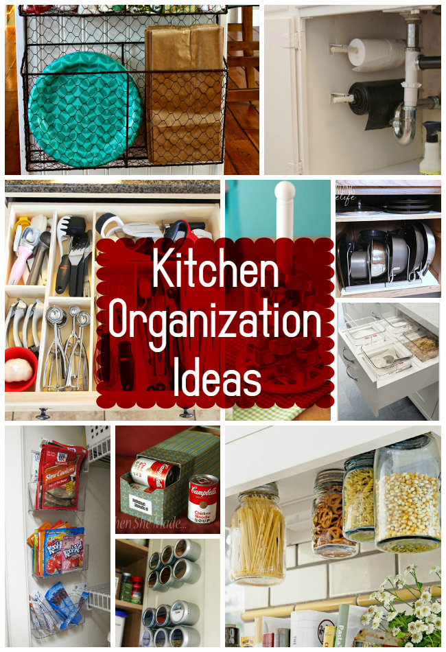 15 Kitchen Organization Ideas