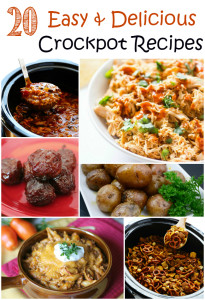 20 Easy & Delicious Crockpot Recipes