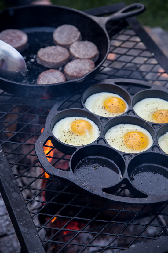 Campfire Breakfast Burger