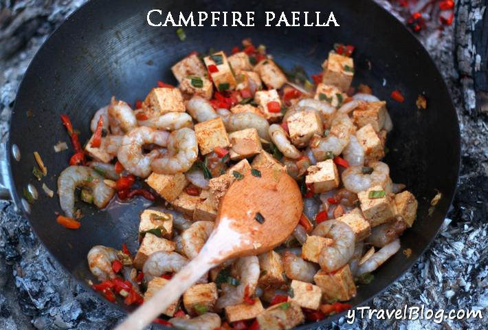 Campfire Paella