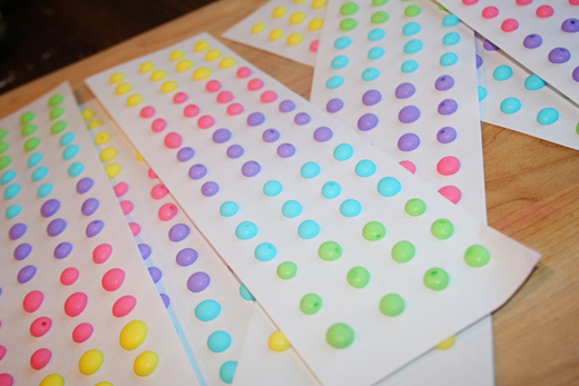 Homemade Candy Buttons
