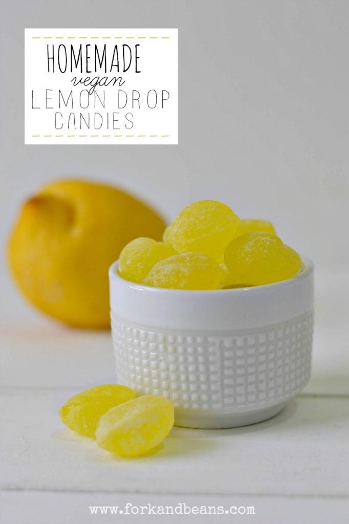 Homemade Lemon Drop Candies