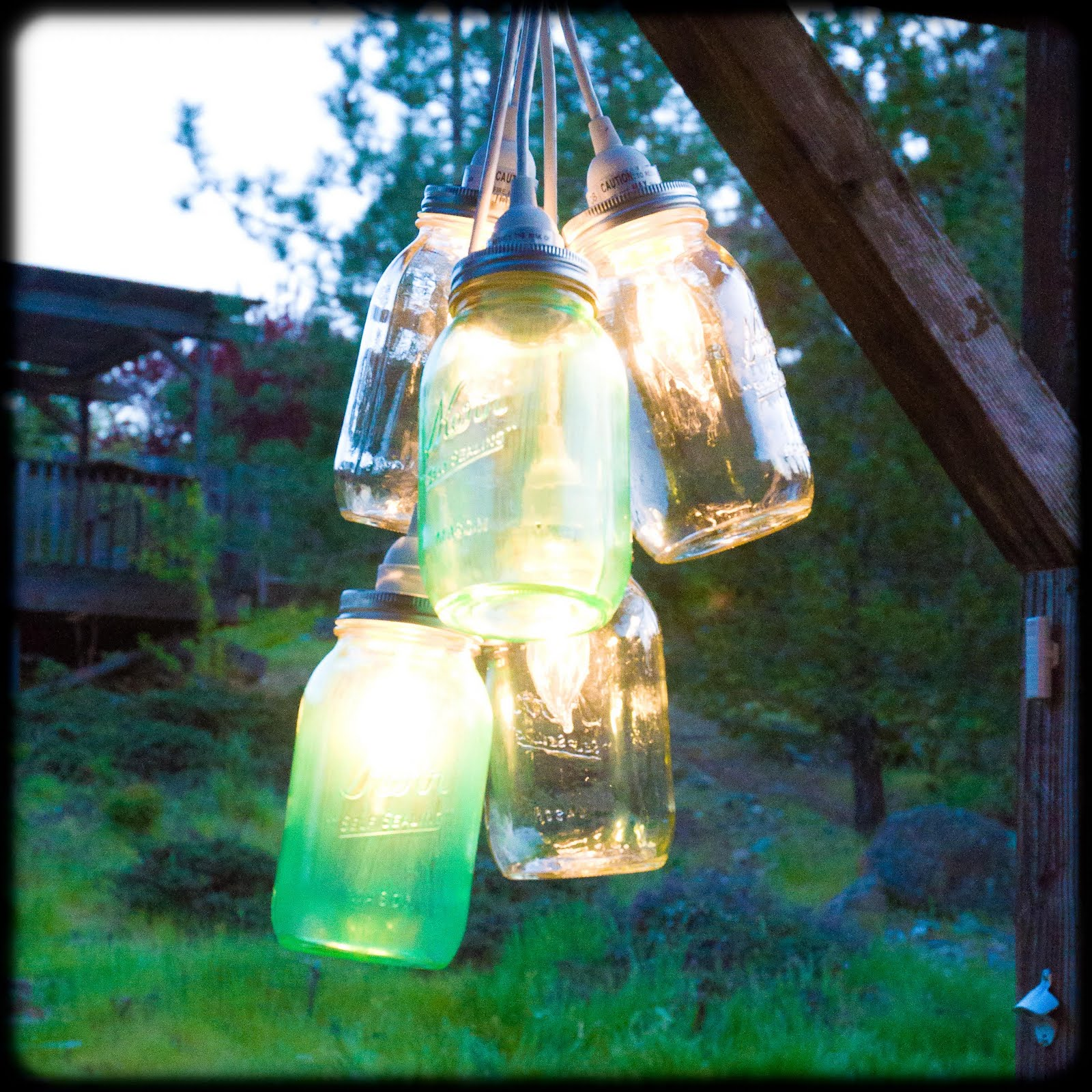Patio Lights Diy: 12 DIY Outdoor Lighting Ideas