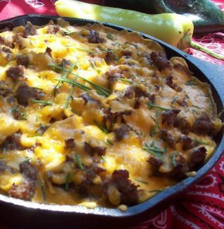 Mountain Man Skillet Scramble