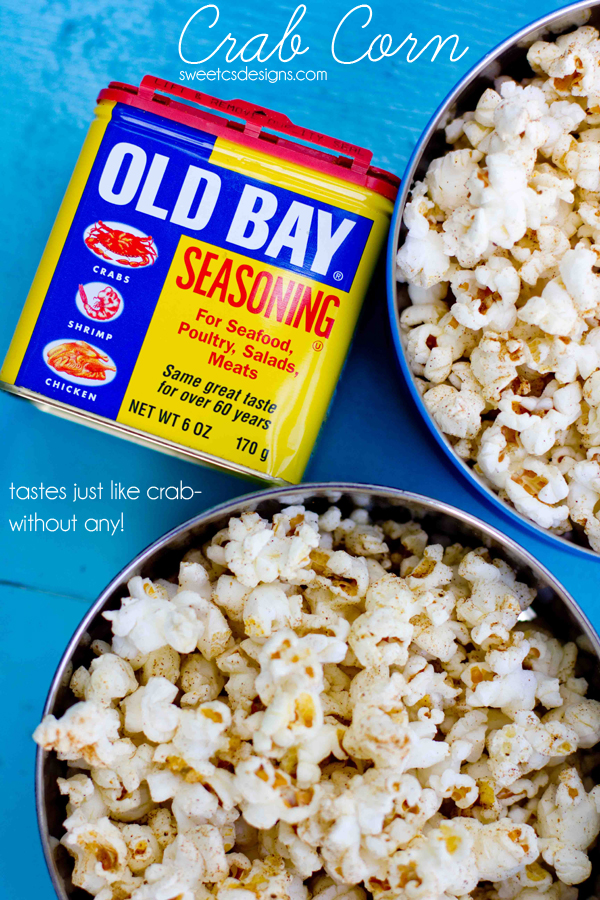 Old Bay Seasoned Popcorn