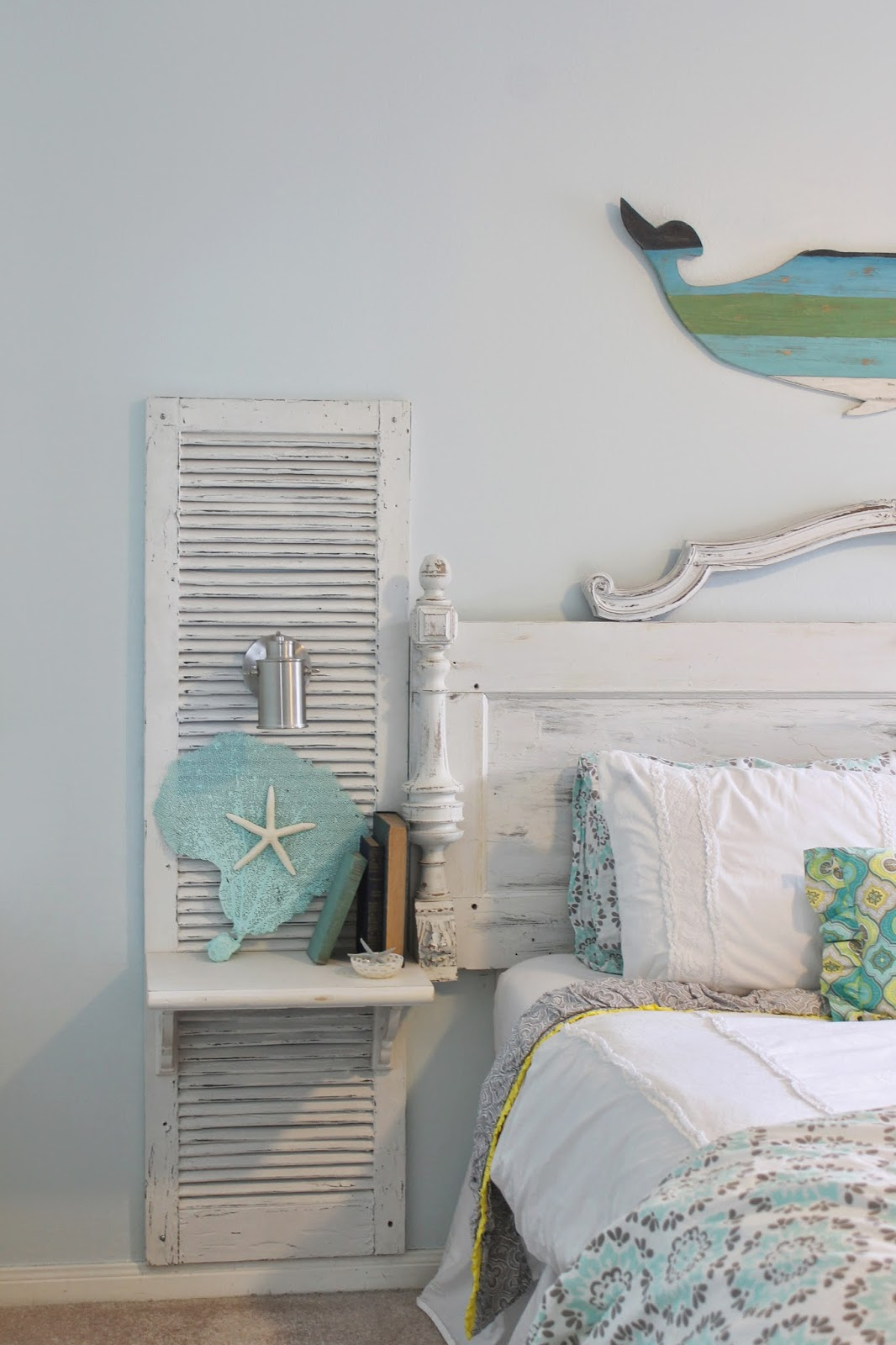 cottage chic furniture. Shabby Chic Knife Block · Old Shutter Nightstand Cottage Furniture