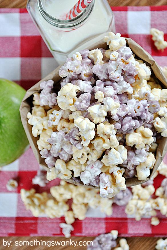 PB&J Popcorn