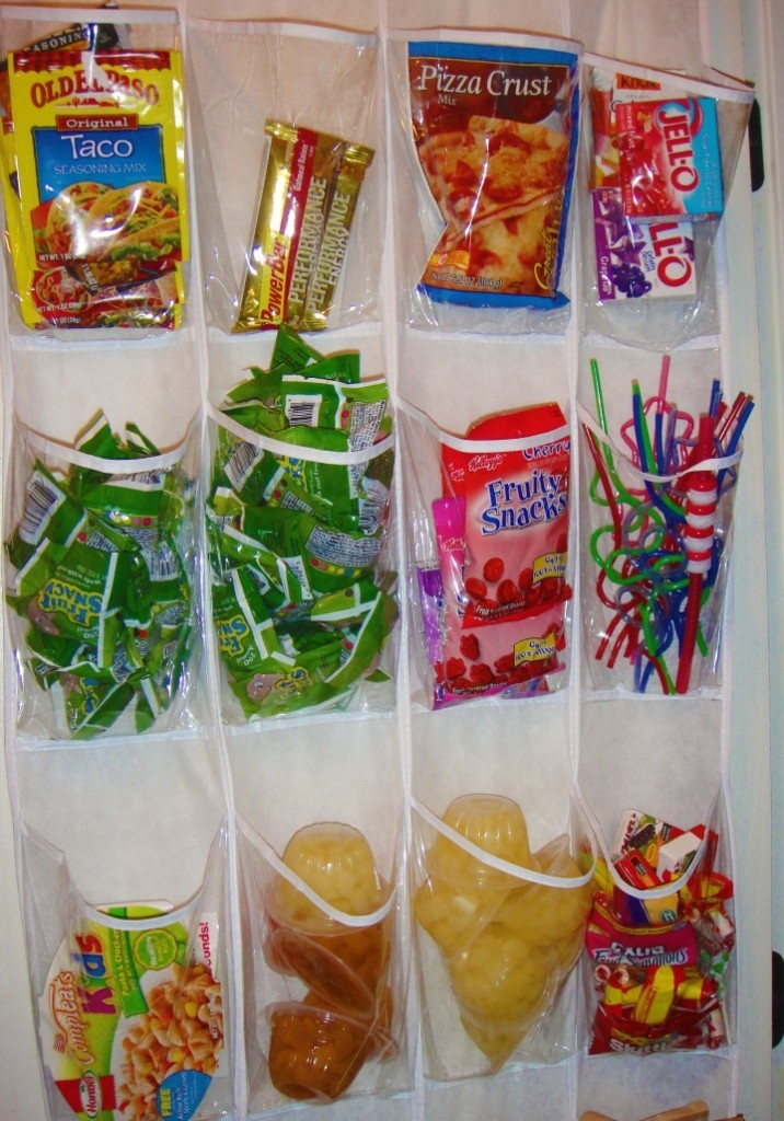 Pantry Pocket Organization