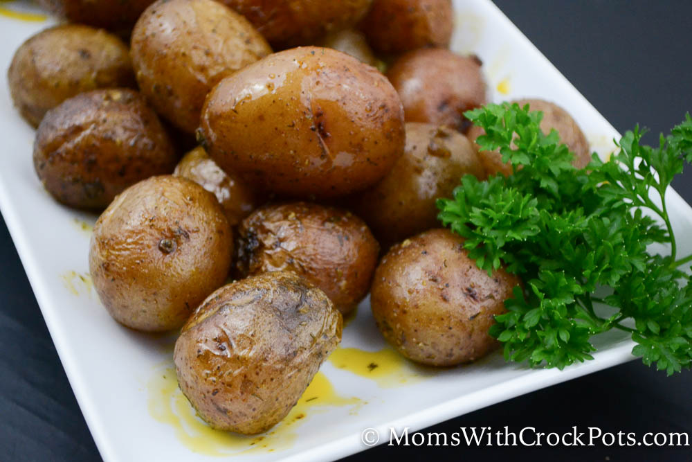 Simple Crock Pot Ranch Potatoes