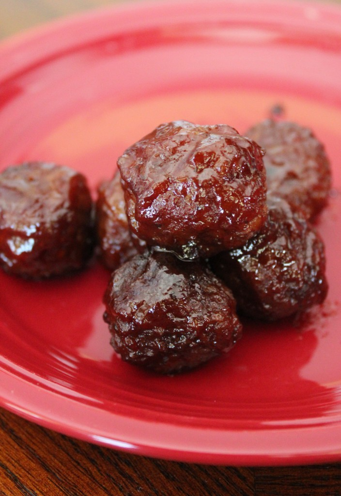 Sweet and Sour Crockpot Meatballs