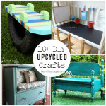 10+ DIY Upcycled Crafts