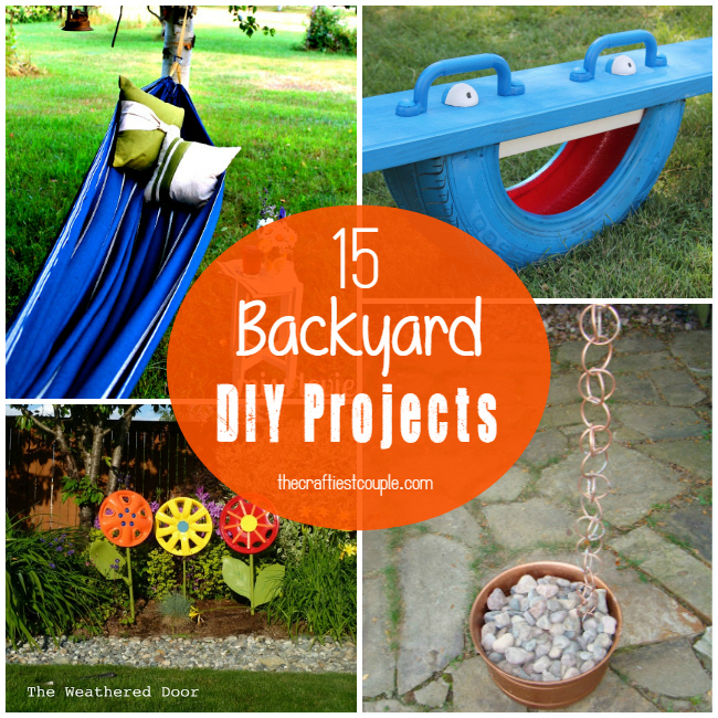 15 Backyard DIY Projects