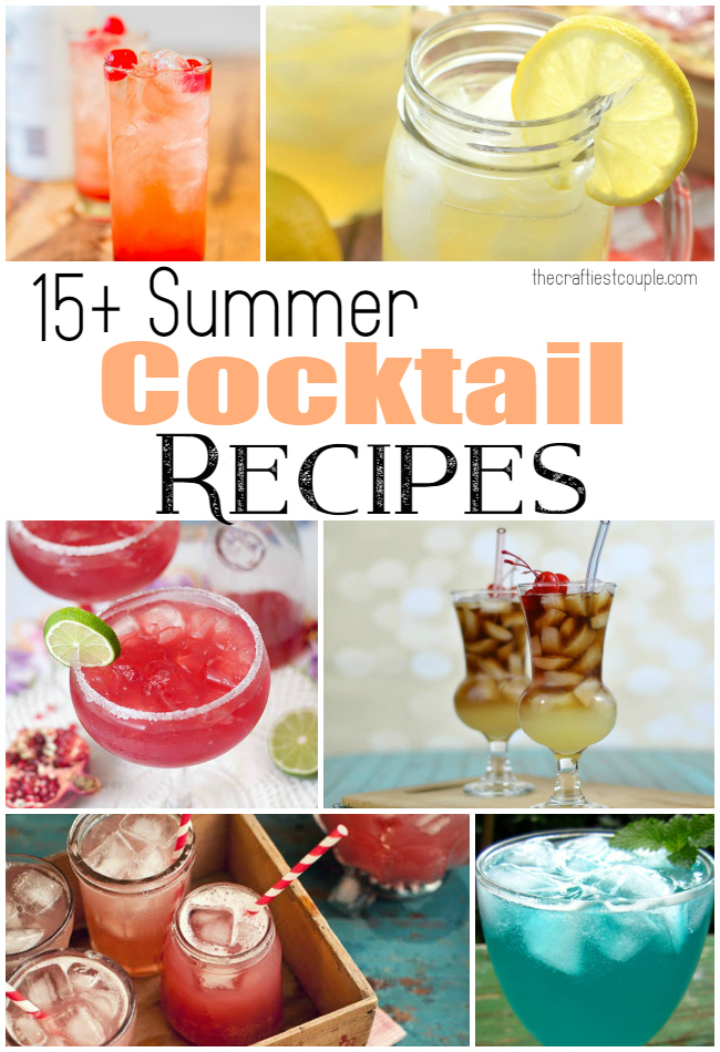 15+ Summer Cocktail Recipes