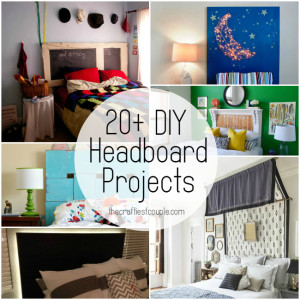 20+ Amazing DIY Headboard Projects