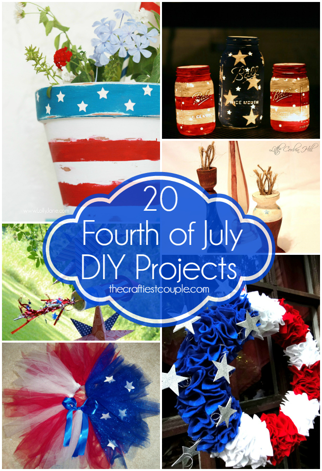 20 Fourth of July DIY Projects