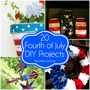 20 Patriotic DIY Projects for July 4th