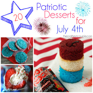 20 Patriotic Desserts For The Fourth Of July