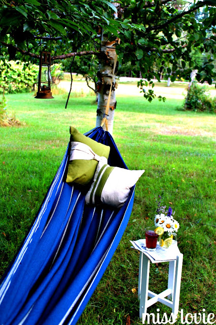 Easy DIY Backyard Hammock