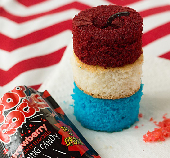 Firecracker Cupcake Recipe
