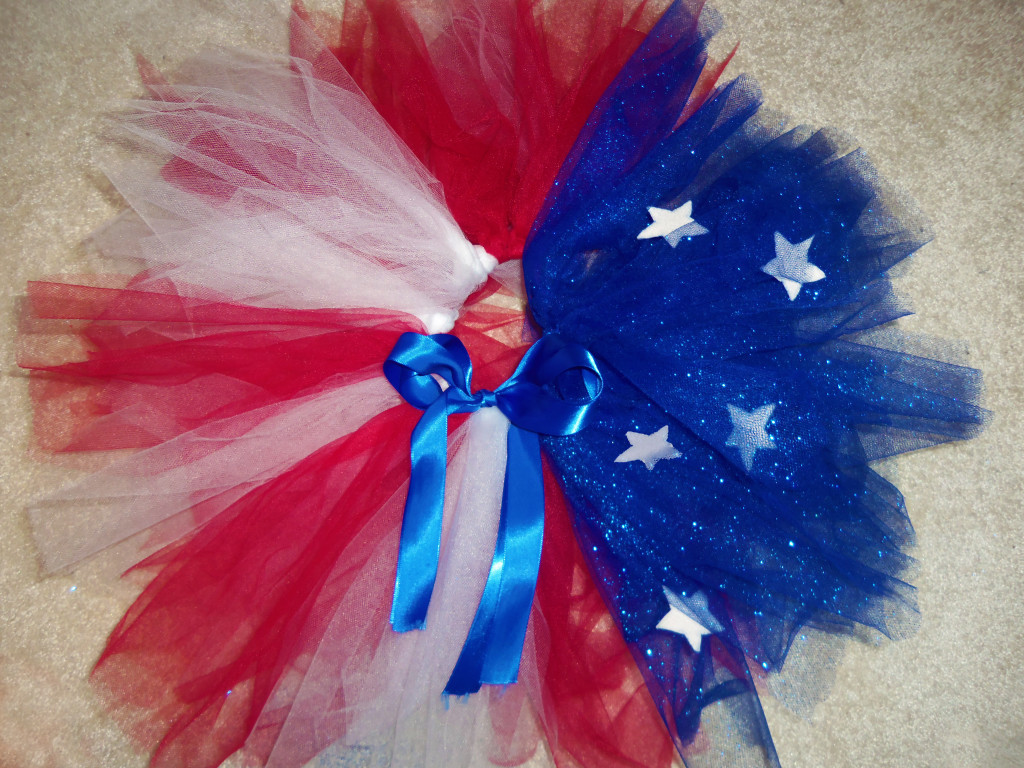 Fourth Of July Toddler Tutu