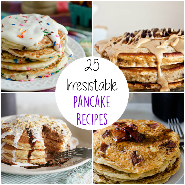 25 Delicious Pancake Recipes