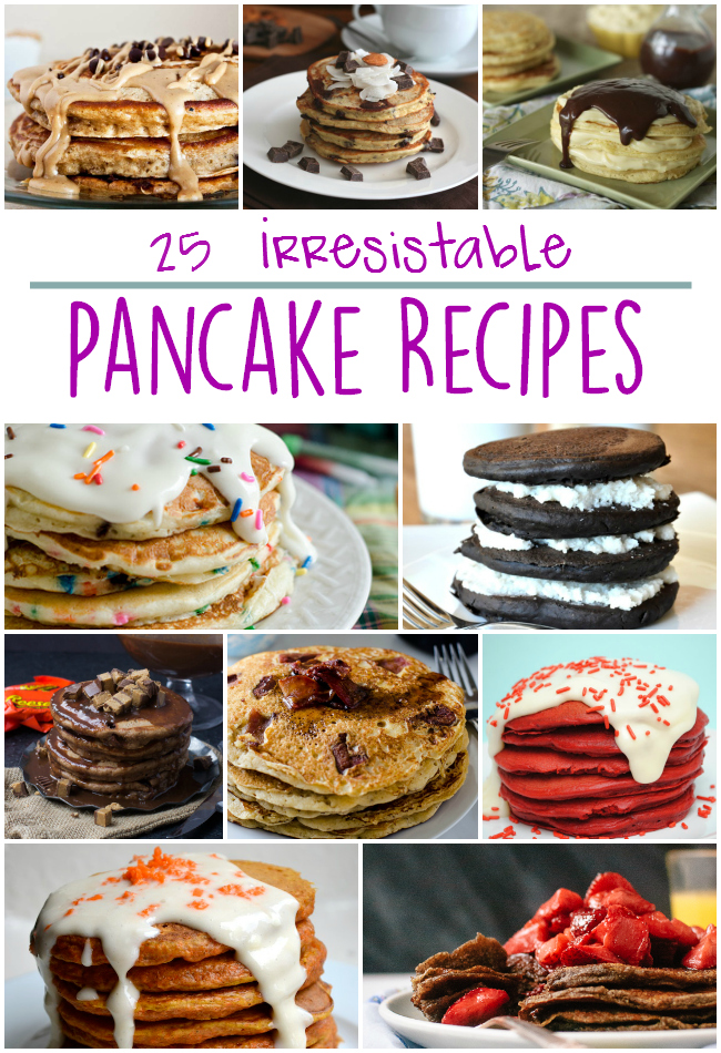 25 Irresistable Pancake Recipes