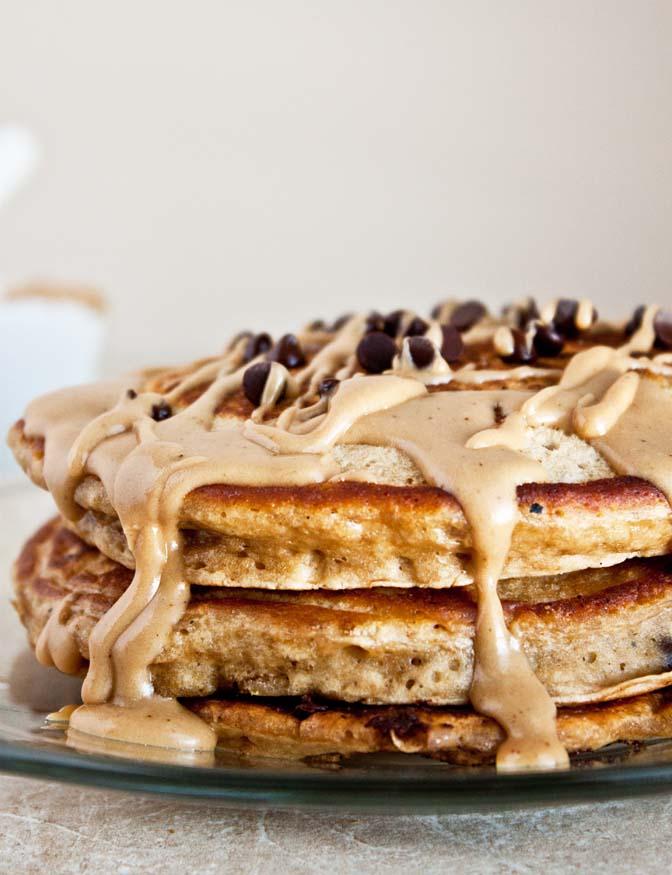 Espresso Chip Pancakes
