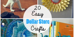 20 Cheap & Simple Dollar Store Crafts