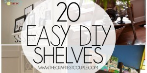 20 Easy DIY Shelves for the House